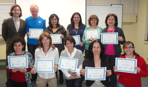 Wordfast Pro trainees with their certificates